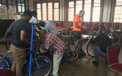 On Your Bikes for the Bolton Destitution Project